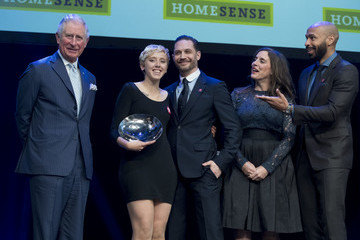 Tom Hardy The Prince Of Wales Attends 'The Prince's Trust' Awards