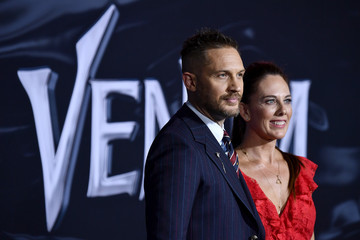 Tom Hardy Premiere Of Columbia Pictures' 'Venom' - Arrivals