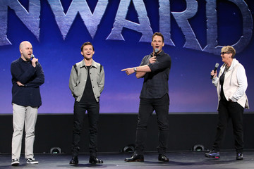 Tom Holland Kori Rae Disney Studios Showcase Presentation At D23 Expo, Saturday August 24