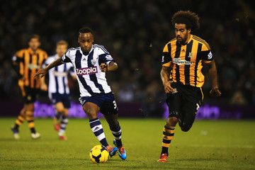 Tom Huddlestone West Bromwich Albion v Hull City - Premier League