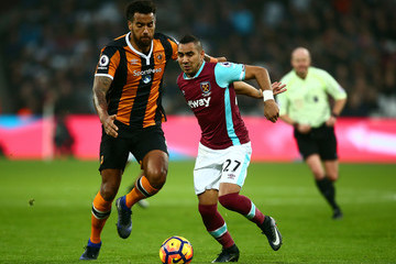 Tom Huddlestone West Ham United v Hull City  - Premier League