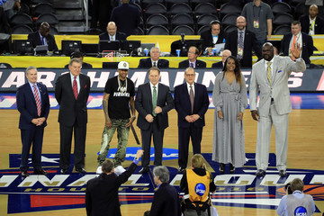 Tom Izzo Naismith Memorial Basketball Hall of Fame 2016 on Court Class Announcement