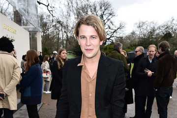 Tom Odell Burberry Womenswear February 2016 Show - Backstage & After Show