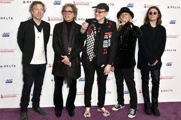 Tom Petersson Daxx Nielsen MusiCares Person Of The Year Honoring Aerosmith - Arrivals