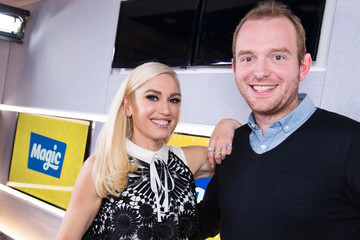 Tom Price Gwen Stefani Visits Magic Radio