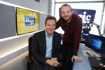 Tom Price Bryan Cranston Visits Absolute Radio