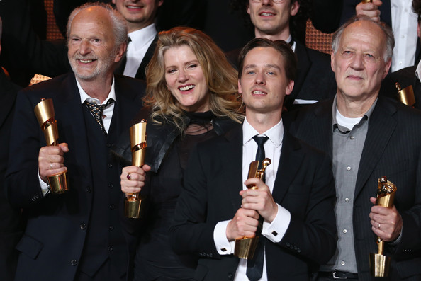 Winners Board at the German Film Awards