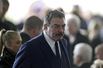 Tom Selleck Funeral Held for Nancy Reagan at Reagan Presidential Library