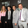 Tom Sturridge FIJI Water At Sea Wall / A Life Opening Night On Broadway