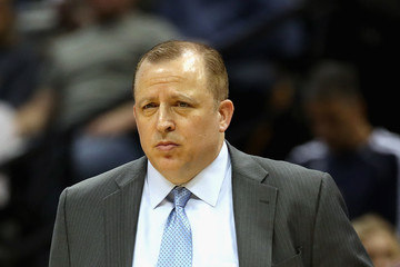 Tom Thibodeau Minnesota Timberwolves v Denver Nuggets