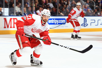 Tomas Tatar Detroit Red Wings v Toronto Maple Leafs
