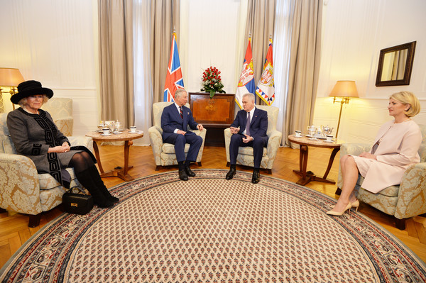 The Prince of Wales and the Duchess of Cornwall Visit Serbia