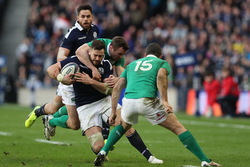 Tommy Bowe Scotland v Ireland - RBS Six Nations