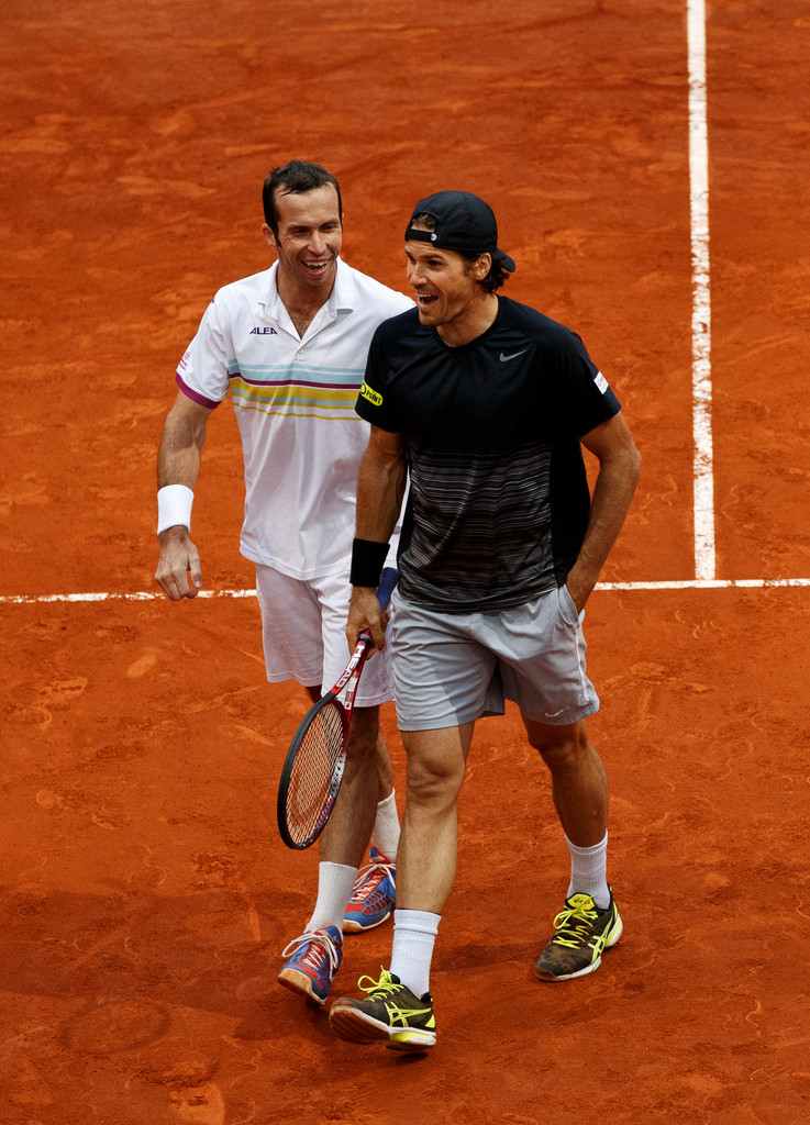 Tommy Haas Wallpaper Tommy With Stepanek in Their