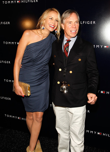 Tommy Hilfiger with Wife Dee Ocleppo