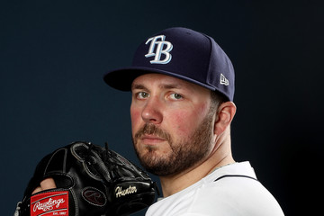 Tommy Hunter Tampa Bay Rays Photo Day