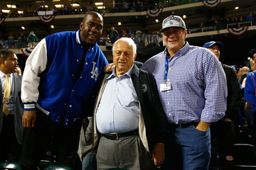 Tommy Lasorda Division Series - Los Angeles Dodgers v New York Mets - Game Three