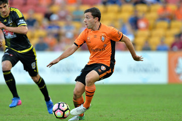Tommy Oar A-League Rd 27 - Brisbane v Wellington