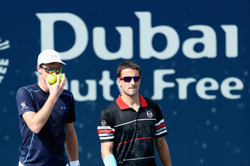Tommy Robredo ATP Dubai Duty Free Tennis  Championship - Day Five