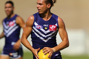 Tommy Sheridan Fremantle Dockers Training Session