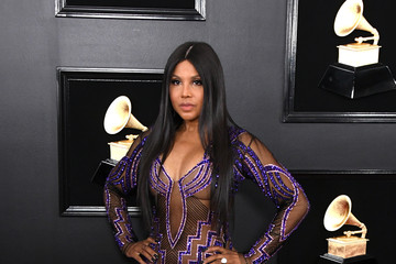 Toni Braxton 61st Annual Grammy Awards - Arrivals