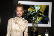 Toni Garrn attends Toni Garrn Foundation Supermodel Flea Market 2019 Launch Party at The Blond on September 11, 2019 in New York City.