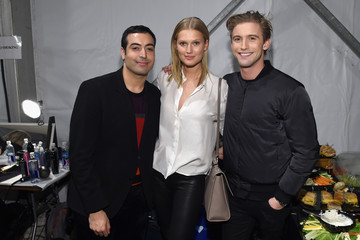 Toni Garrn Mohammed Al Turki Naomi Campbell's Fashion For Relief Charity Fashion Show - Backstage
