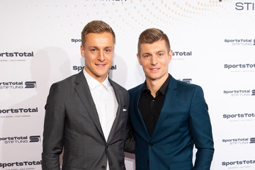 Toni Kroos SportsTotal Christmas Party In Cologne