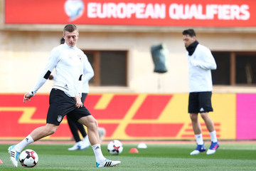 Toni Kroos Germany - Training & Press Conference