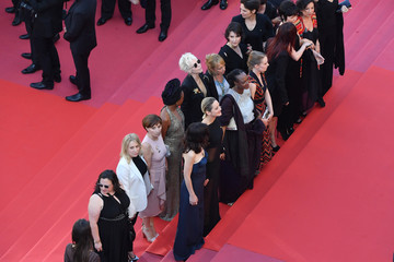 Tonie Marshall 'Girls Of The Sun (Les Filles Du Soleil)' Red Carpet Arrivals - The 71st Annual Cannes Film Festival