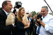 Tony Abbott and Frances Abbott Photos Photo