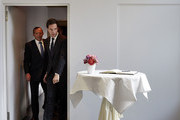 Tony Abbott Mark Rutte Photos Photo