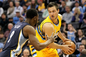 Tony Allen Memphis Grizzlies v Denver Nuggets