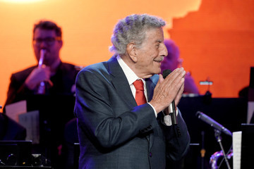 Tony Bennett Statue Of Liberty Museum Opening Celebration