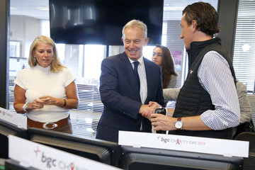 Tony Blair Annual Charity Day Hosted By Cantor Fitzgerald, BGC, And GFI - BGC Office – Inside