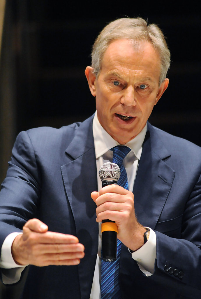 Tony Blair Awarded With Prestigious Liberty Medal - Pictures
