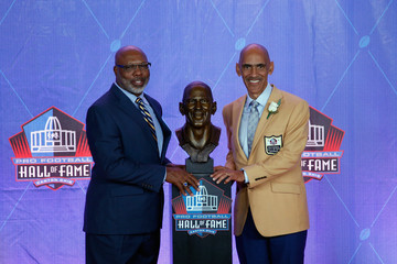 Tony Dungy NFL Hall of Fame Enshrinement