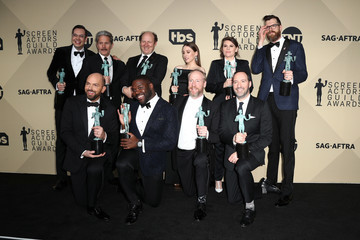 Tony Hale Kevin Dunn 24th Annual Screen Actors Guild Awards - Press Room
