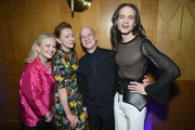 Kathleen Marshall, Julie White, Richie Jackson, and Jordan Roth attend the Tony Honors Cocktail Party Presenting The 2019 Tony Honors For Excellence In The Theatre And Honoring The 2019 Special Award Recipients at Sofitel Hotel on June 03, 2019 in New York City.
