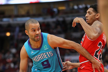 Tony Parker Charlotte Hornets vs. Chicago Bulls