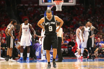 Tony Parker San Antonio Spurs v Los Angeles Clippers - Game One