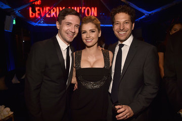 Topher Grace Amazon Studios Golden Globes Celebration - Inside