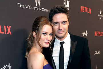 Topher Grace The Weinstein Company and Netflix Golden Globes Party Presented With FIJI Water