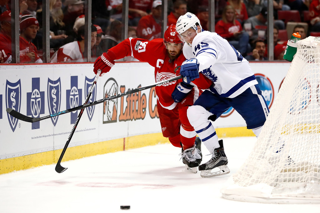 Henrik Zetterberg Photos»Photostream · Main · Articles · Pictures · Toronto  Maple Leafs v Detroit Red Wings ed1c71ad3