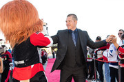 Chris Neil #25 of the Ottawa Senators walks the red carpet prior to their home opener against the Toronto Maple Leafs at Canadian Tire Centre on October 12, 2016 in Ottawa, Ontario, Canada.
