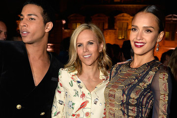 Tory Burch Celebs Attend the Tory Burch Paris Flagship Opening and After Party