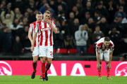 Darren Fletcher of Stoke City look dejected during the Premier League match between Tottenham Hotspur and Stoke City at Wembley Stadium on December 9, 2017 in London, England.  (Photo by Catherine Ivill/Getty Images) *** Local Caption *** Darren Fletcher