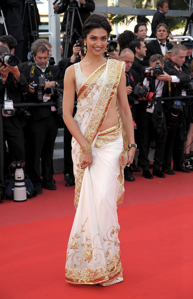 Actress Deepika Padukone attends the 'On Tour' Premiere at the Palais des Festivals during the 63rd Annual Cannes Film Festival on May 13, 2010 in Cannes, France.