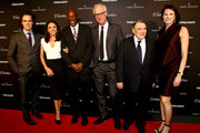Jay Fielden, Julia Louis-Dreyfus, Geoffrey Canada, Brad Hall, William Louis-Dreyfus and Jennifer Levine Bruno attend the T&C Philanthropy Summit with screening of 'Generosity Of Eye' at Lincoln Center with Town & Country on May 28, 2014 in New York City.