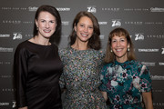 (L-R) Jennifer Levene Bruno, Christy Turlington Burns, and Hillary Koota Krevlin attend Town & Country Third Annual Philanthropy Series: Dallas at Hotel Crescent Court on October 29, 2019 in Dallas, Texas.